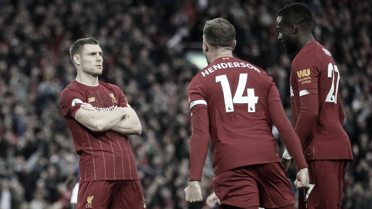 Milner da una victoria agónica al Liverpool desde el punto de penalti