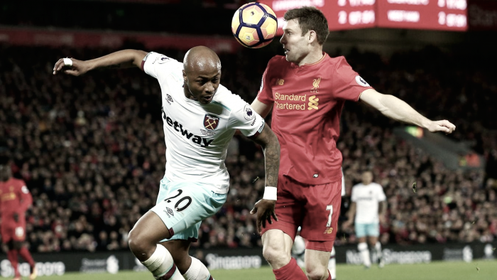Origi salva il Liverpool: pari col West Ham (2-2)