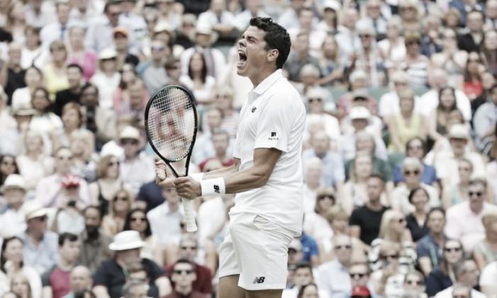 Raonic vira, surpreende Federer e vai à primeira final de Grand Slam da carreira