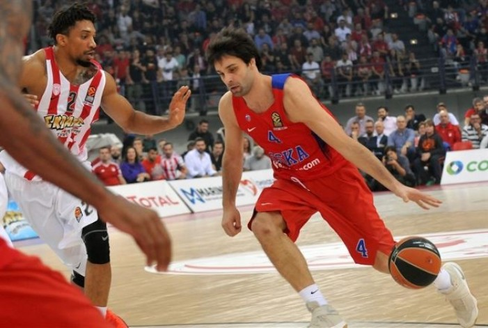 CSKA Mosca - Olimpyakos Pireo in Turkish Airlines EuroLeague 2016/17 (78-82): CLAMOROSA VITTORIA OLYMPIAKOS!