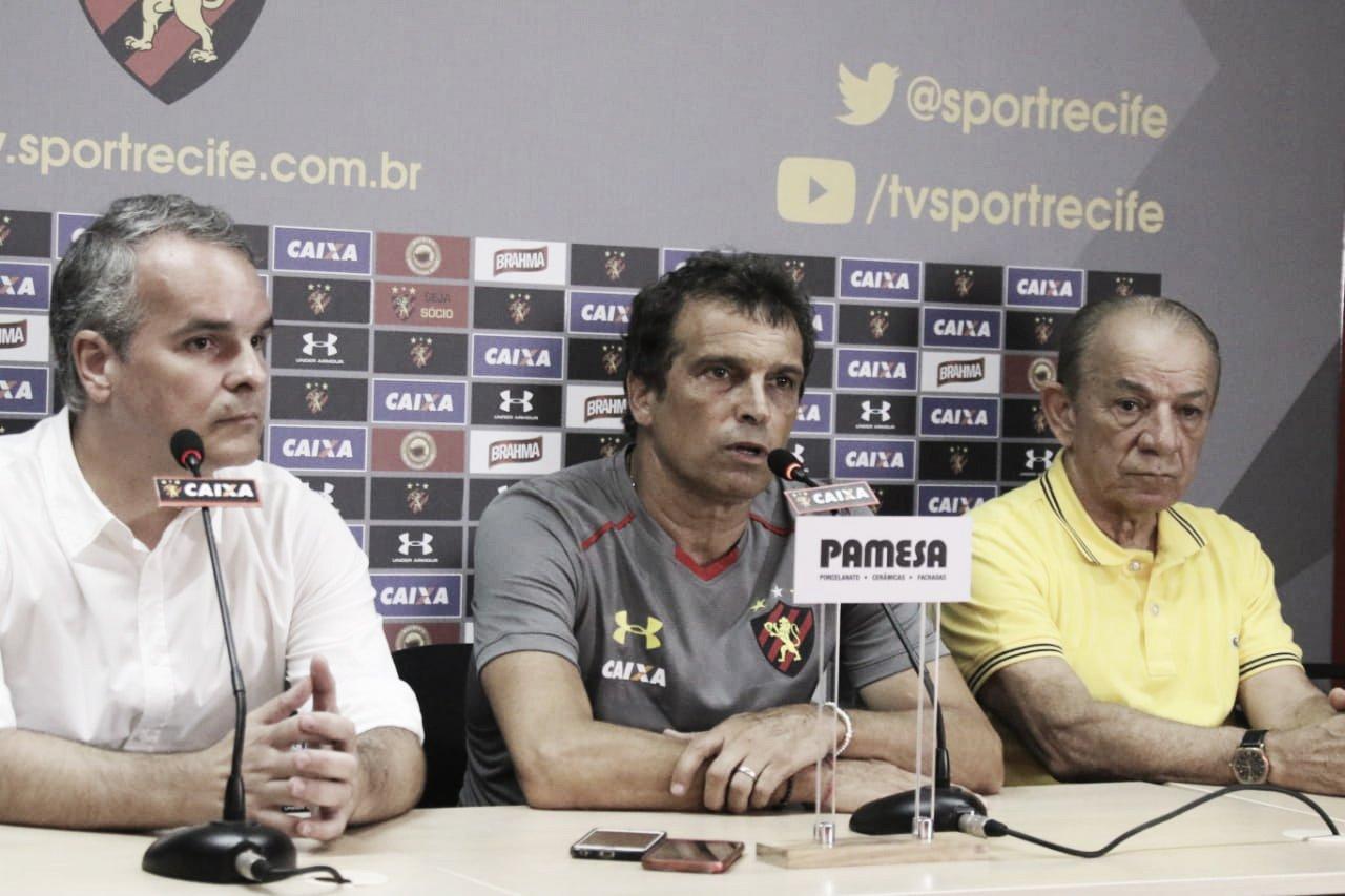 Apresentado pelo Sport, Milton Cruz pede paciência, mas mostra confiança no trabalho