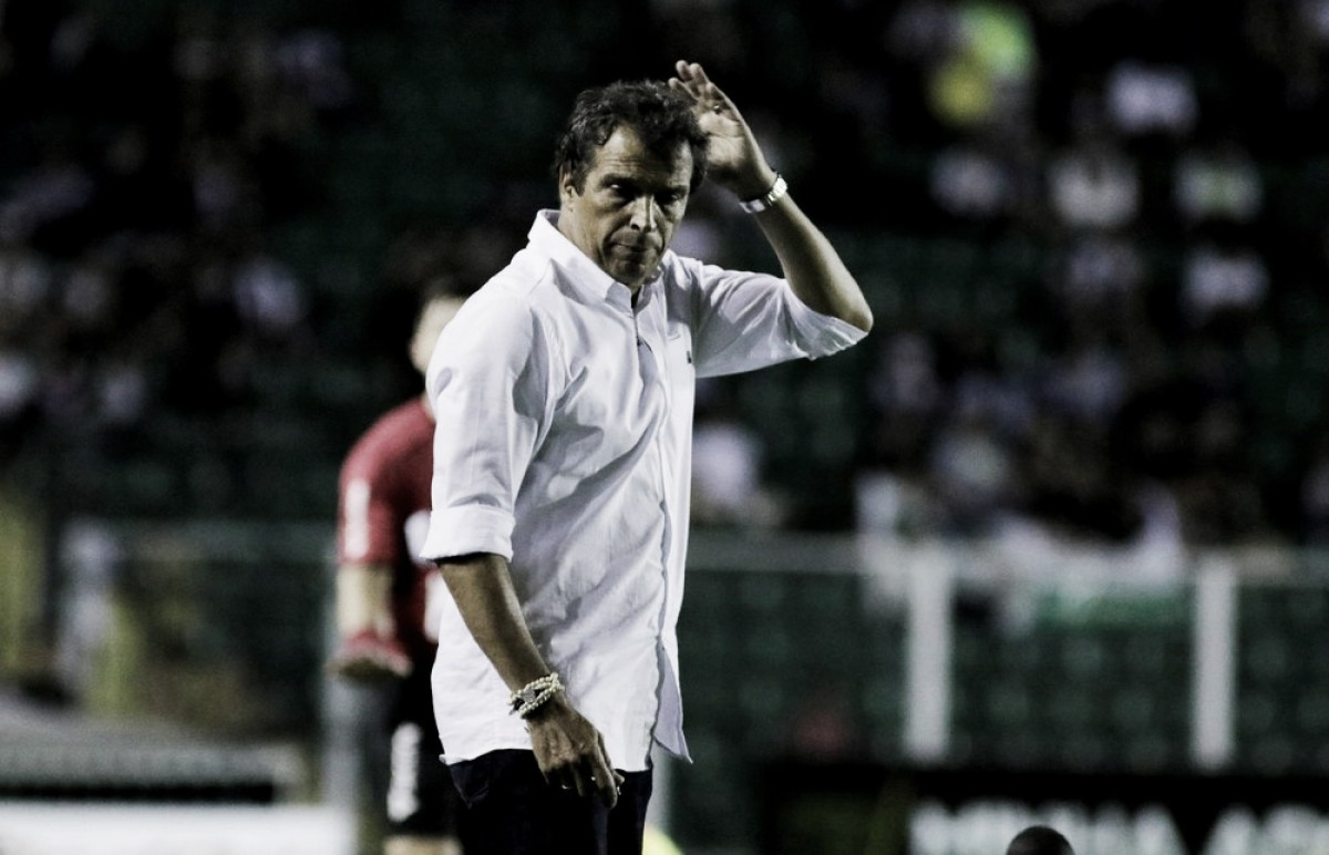 """Milton Cruz comemora vitória do Figueirense, mas espera evolução: """"Temos muito o que melhorar"""""""