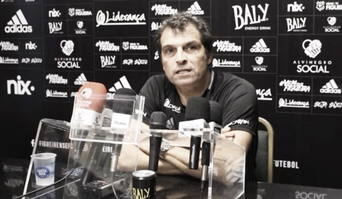 """Milton Cruz elogia desempenho do Figueirense após triunfo fora de casa: """"Parabéns pela postura"""""""