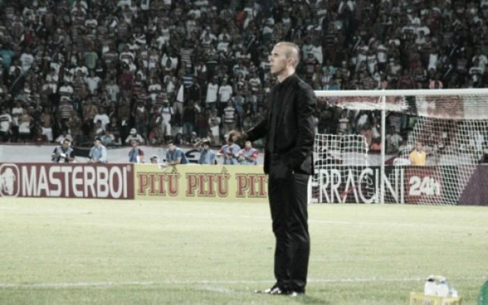 Milton Mendes não resiste à derrota para São Paulo e anuncia saída do Santa Cruz