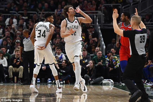 Milwaukee Bucks become the first team to clinch playoff spot