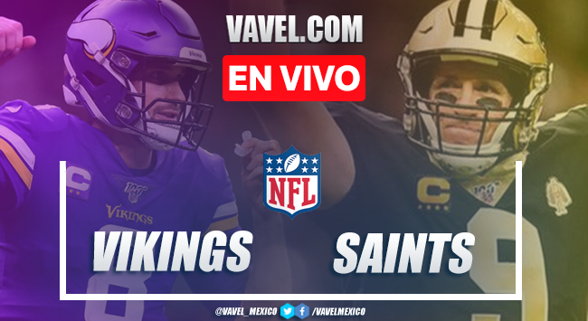 Resumen y touchdowns del Minnesota Vikings 33-52 New Orleans Saints en NFL 2020