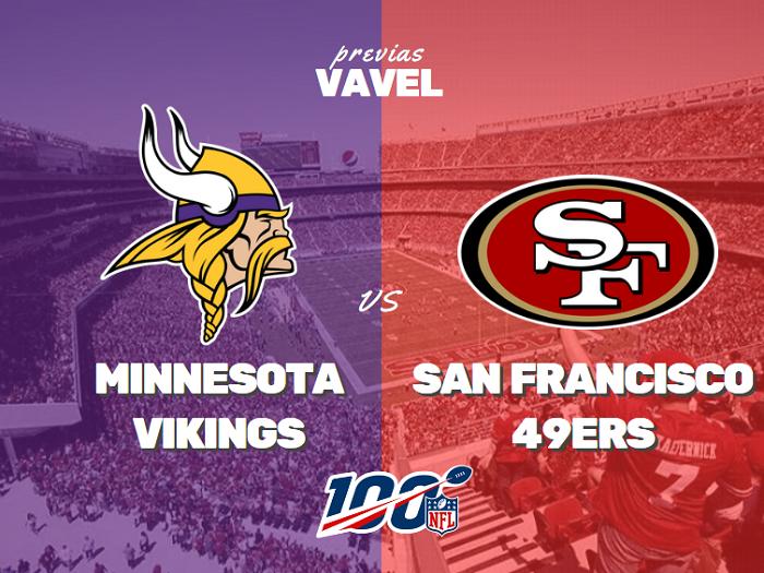 Previa Vikings - 49ers: Minnesota ahora busca sorpresa en la Bahía