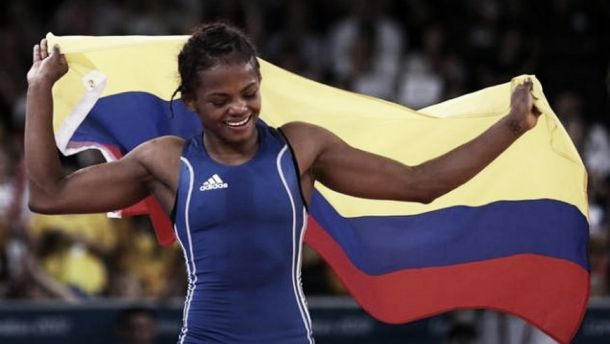 Jackeline Rentería se vistió de Oro en el Torneo de lucha en Italia