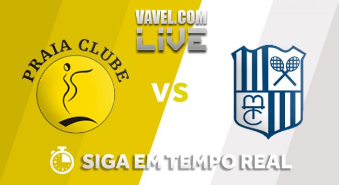 Resultado Praia Clube x Camponesa/Minas pela Superliga Feminina (3-1)