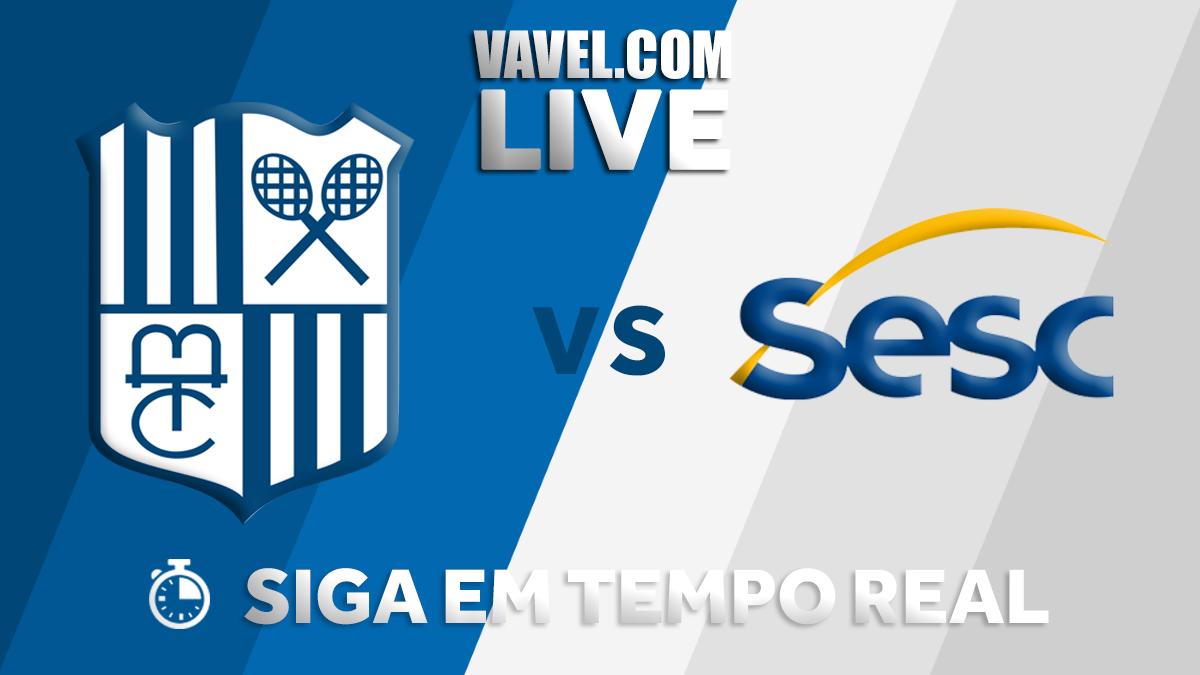 Resultado Sesc RJ x Camponesa/Minas pela semifinal da Superliga Feminina (3-1)