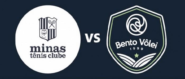Resultado Minas x Bento Vôlei pela Superliga Masculina de Vôlei 2016/17 (3-1)