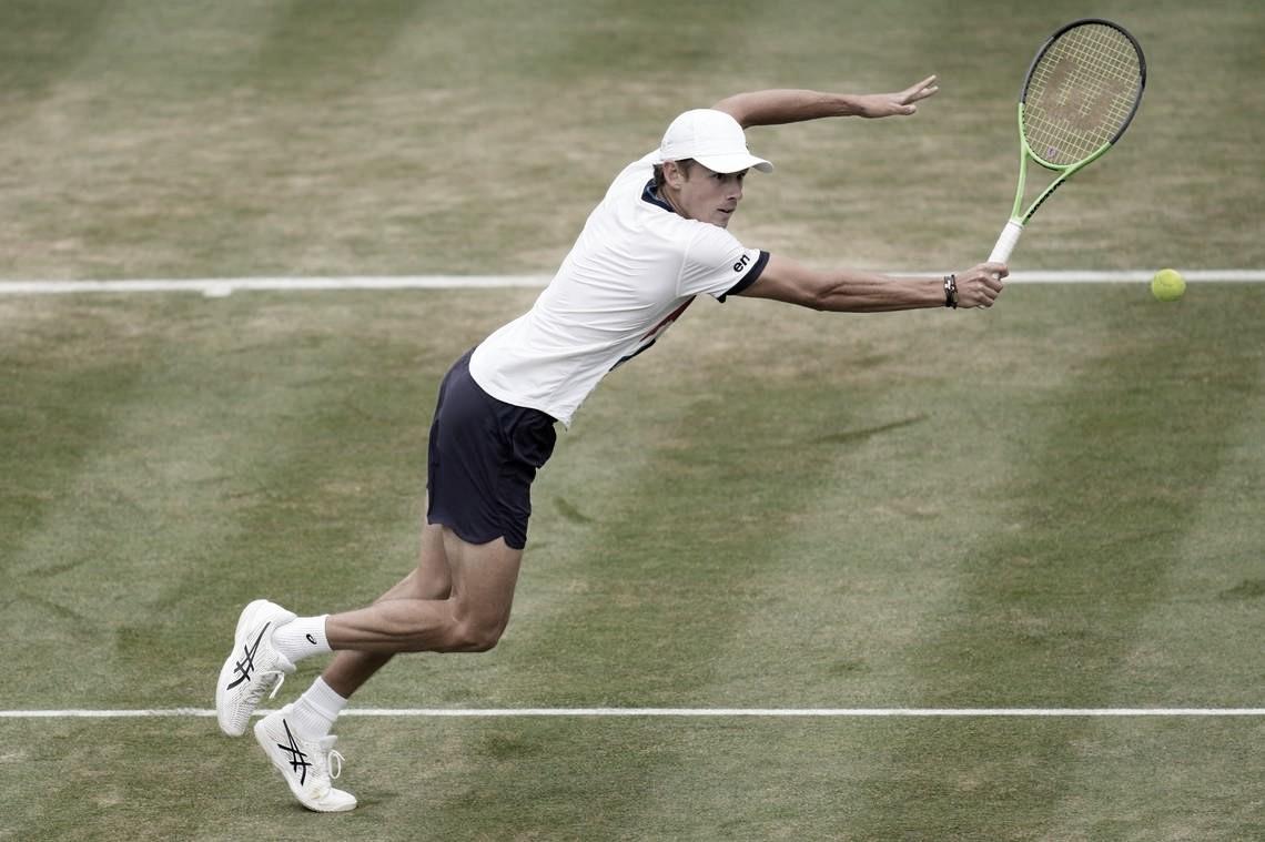 Em dois sets, de Minaur venceKwon e é finalista do ATP 250 de Eastbourne