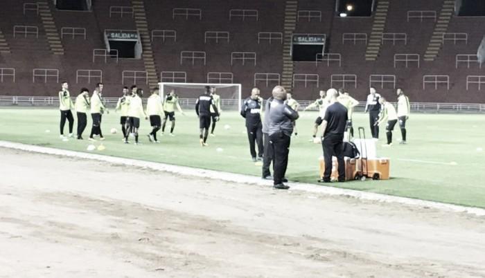 Atlético Mineiro entrenó en el Estadio de la UNSA, pensando en Melgar