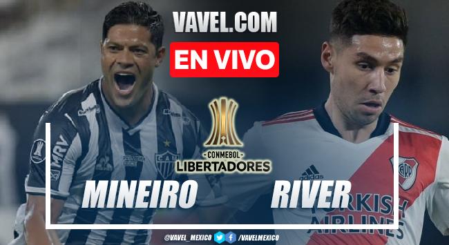 Goles y resumen del Atlético-MG 3-0 River Plate en Copa Libertadores 2021