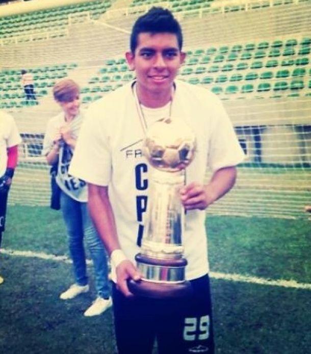 """Gabriel Gómez: """"Gracias a Dios se nos dio el resultado y hoy somos campeones"""""""
