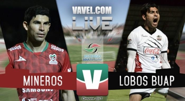 Resultado y goles del Mineros vs Lobos BUAP Semifinales (2-4)