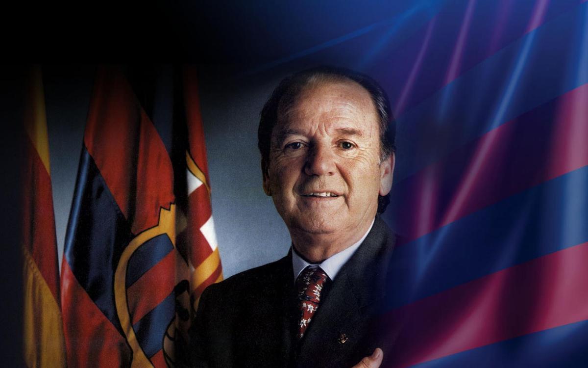 "Josep Lluís Núñez, el ""comandante"" de la época dorada"