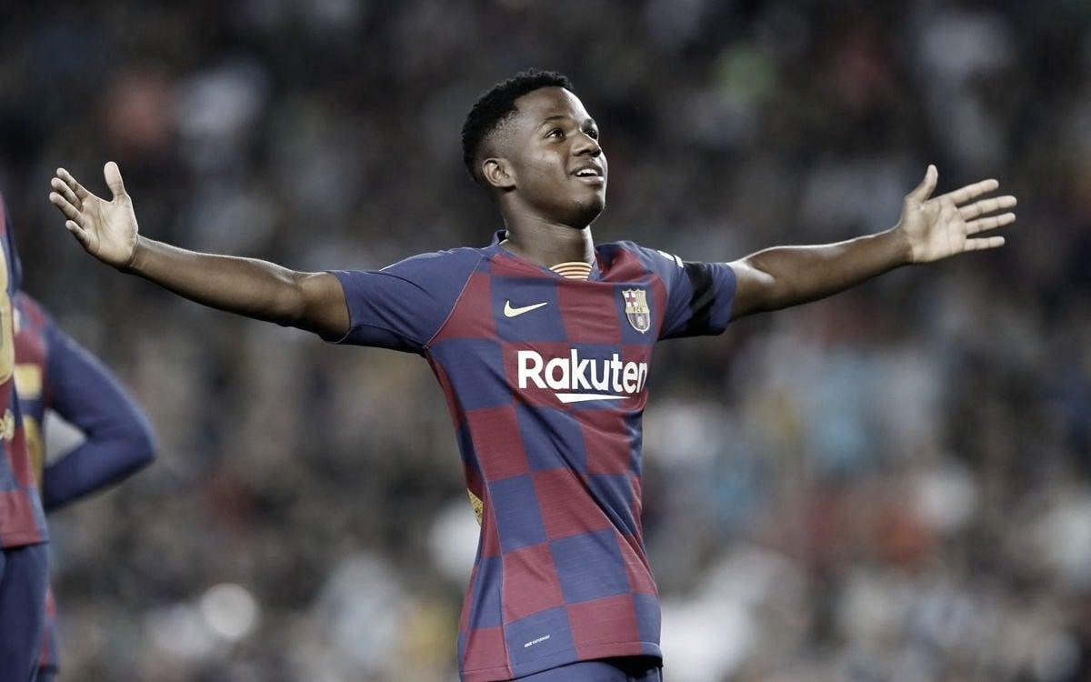 Nova sensação do Barcelona, Ansu Fati se naturaliza espanhol