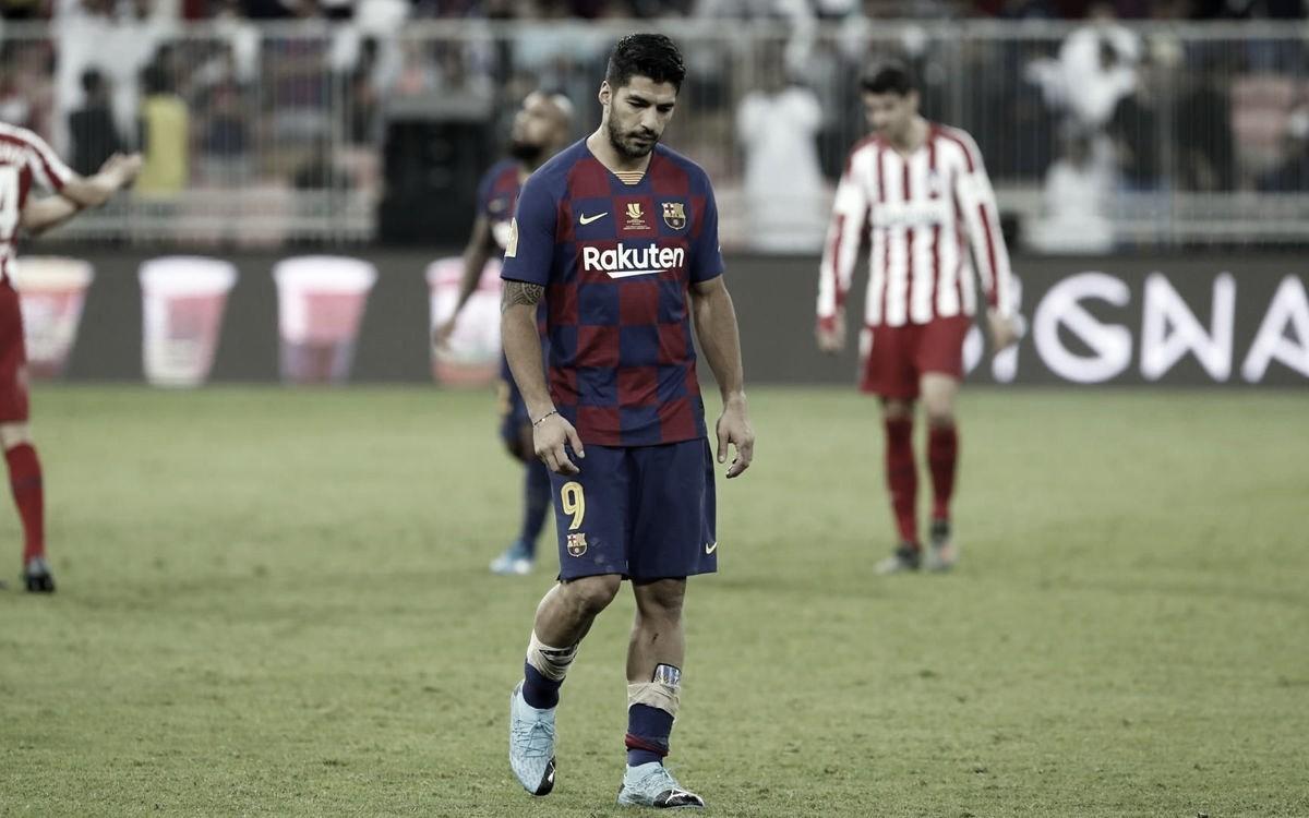 Devido uma lesão no joelho, Suárez passará por cirurgia neste domingo