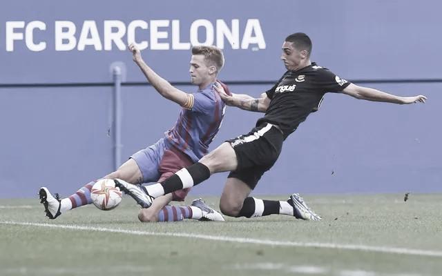 El Barça B no sale del empate contra el Nàstic