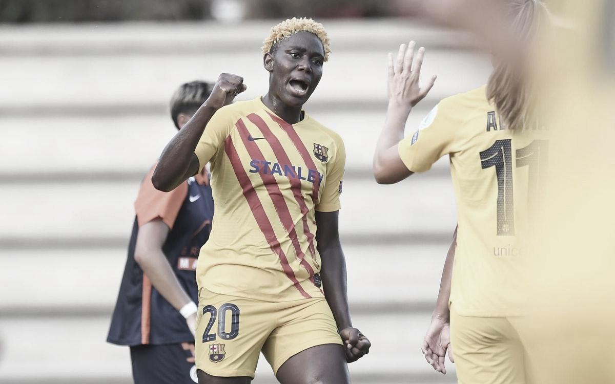 El Barcelona arrolla al Montpellier en su segundo amistoso