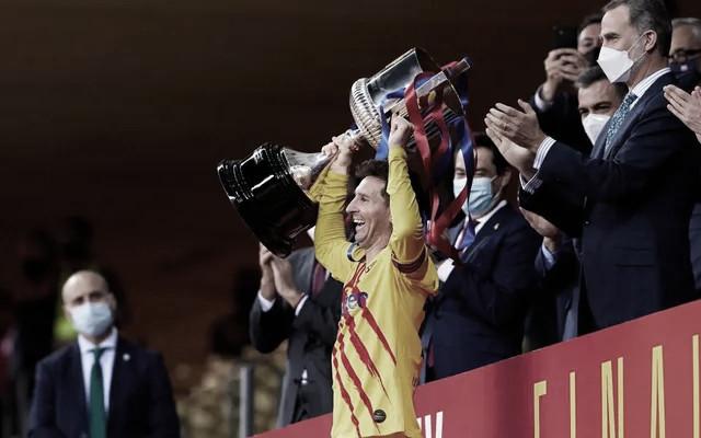 """Messi: """"Es un orgullo ser el capitán de este Club"""""""