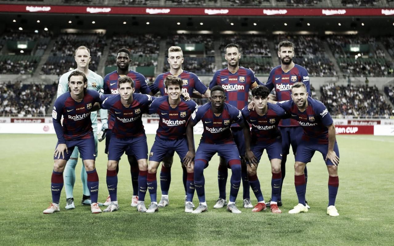 Barcelona - Chelsea: puntuaciones del FC Barcelona, Rakuten Cup 2019