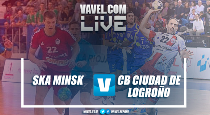 Resumen Minsk vs Ciudad de Logroño en EHF Cup 2017 (36-28)
