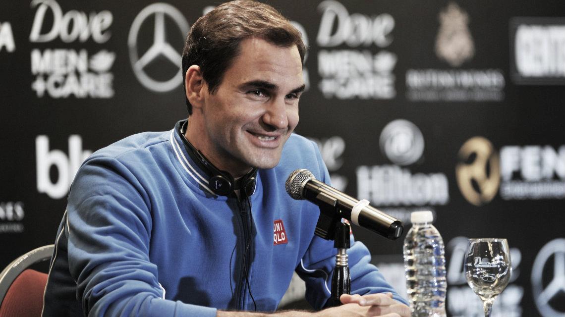 Federer llegó a la Argentina y habló de todo