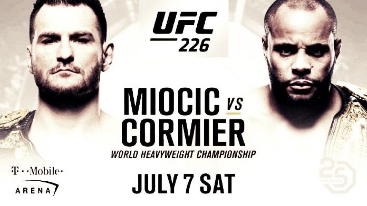UFC 226 Moicic - Cormier: campeón vs campeón