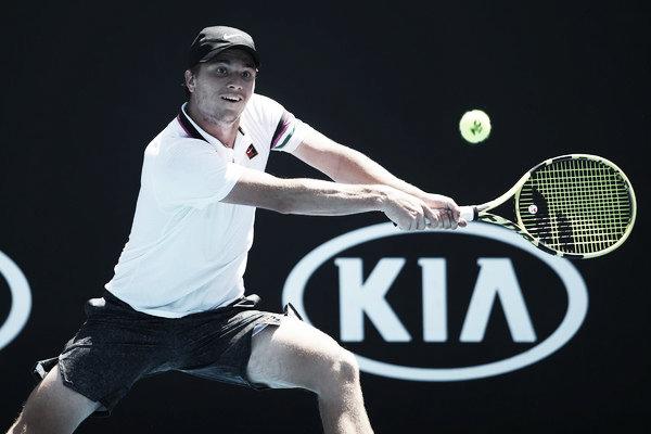 Miomir Kecmanovic se estrena en Wimbledon