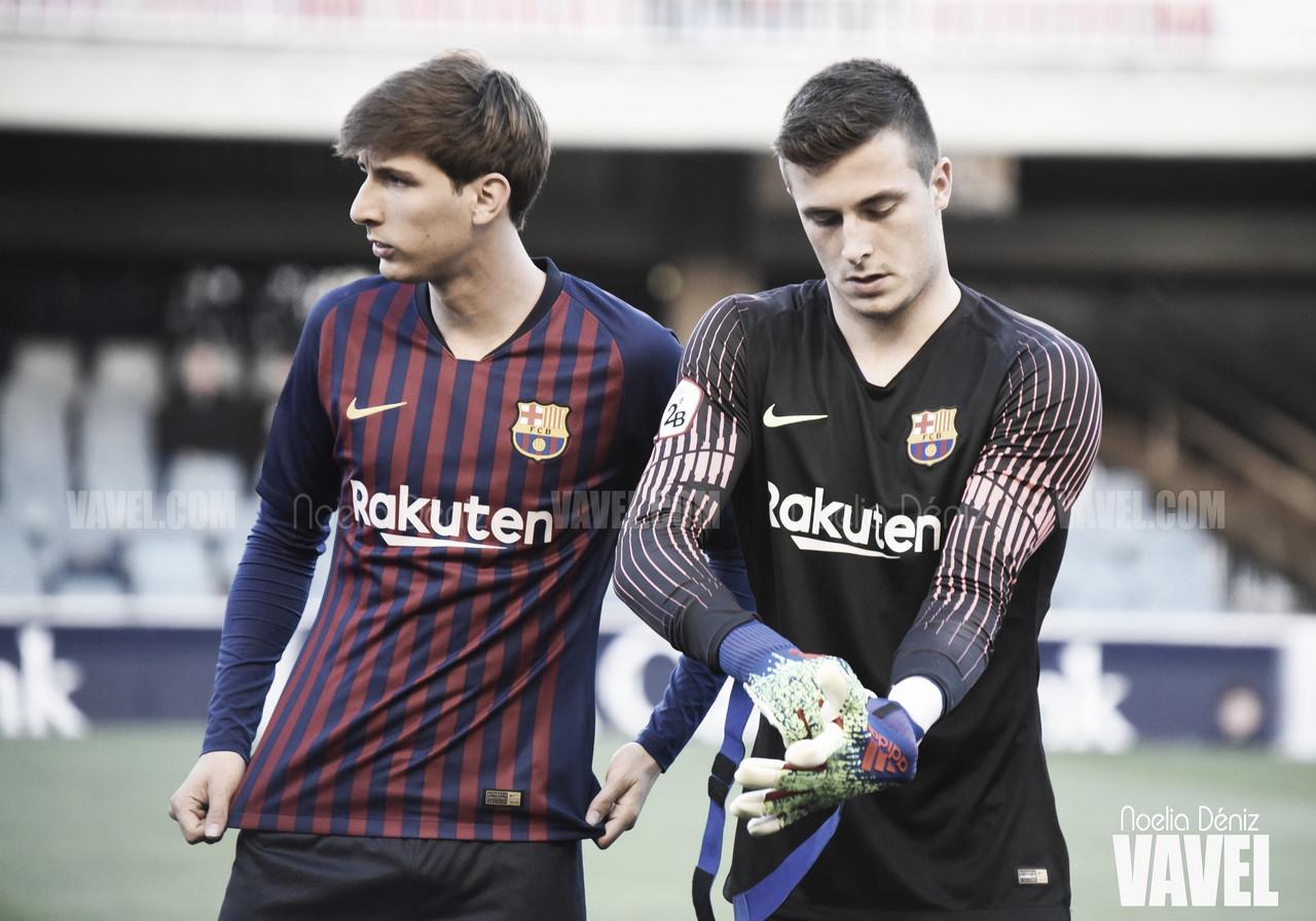 Convocados del FC Barcelona B para medirse al Espanyol B