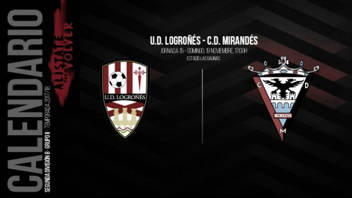 UD Logroñés- CD Mirandés: las Gaunas alberga la fiesta del fútbol