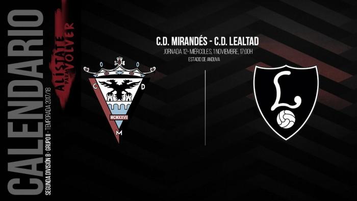 Previa CD Mirandés - CD Lealtad: primera visita a Anduva