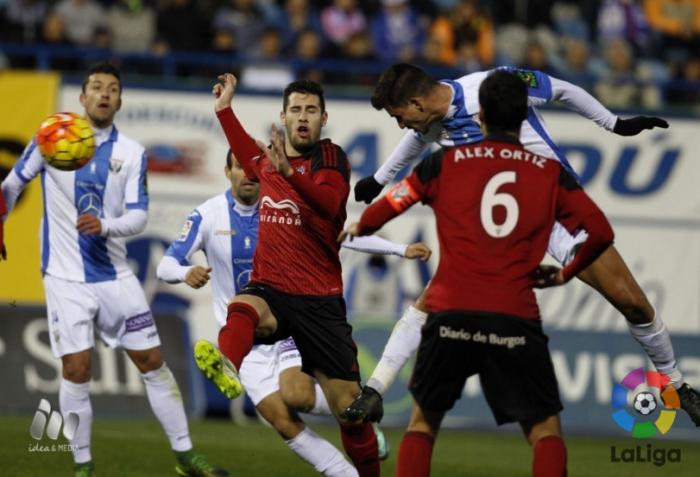 Leganés - Mirandés, puntuaciones del Mirandés, jornada 21 Liga Adelante