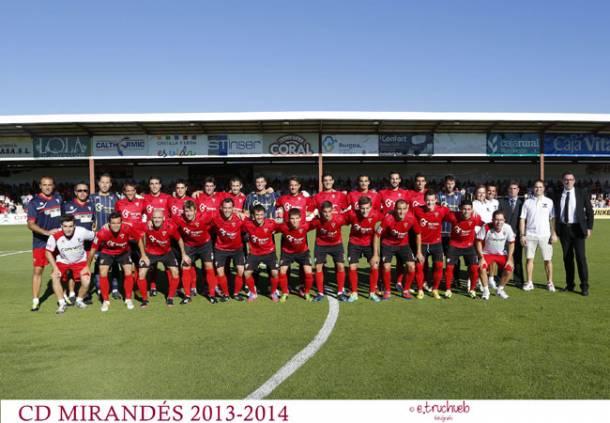 Club Deportivo Mirandés 2013/2014