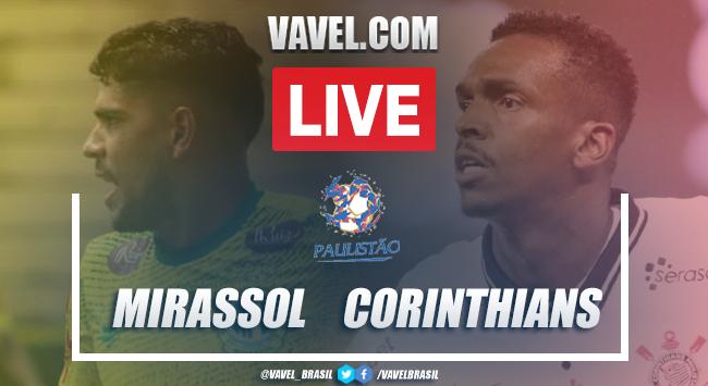 Gol e melhores momentos para Mirassol 0 x 1 Corinthians pelo Campeonato Paulista