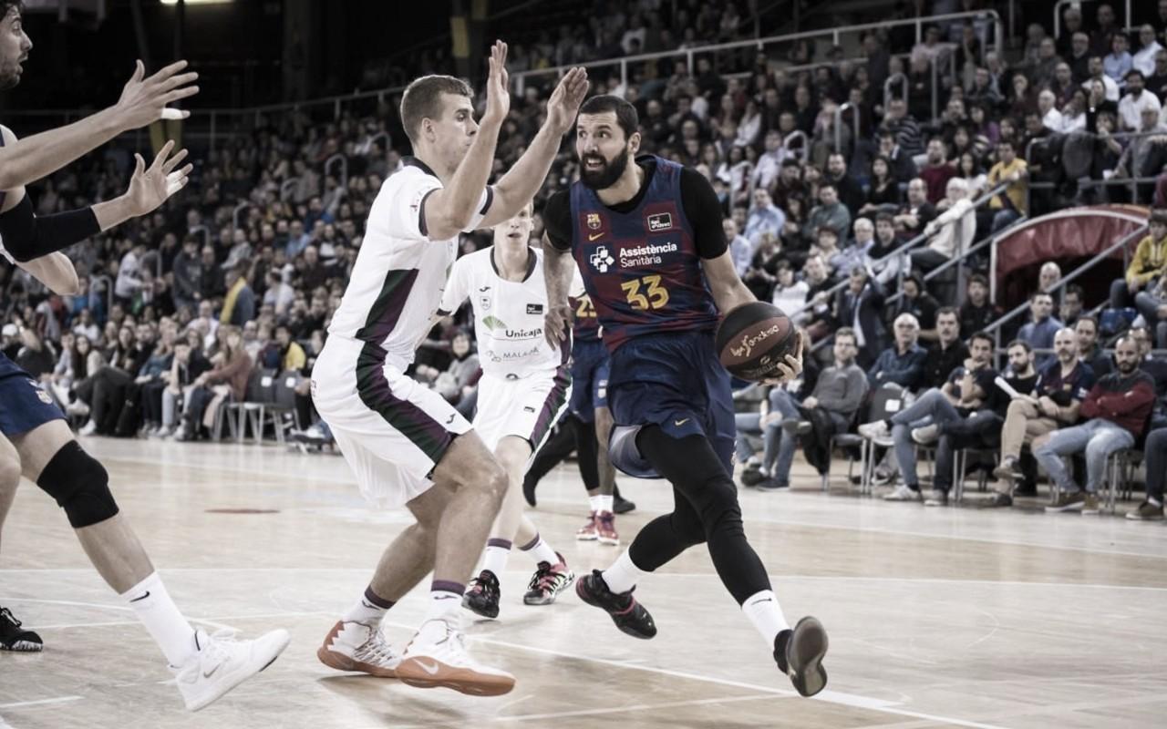 Previa Unicaja Málaga - FC Barcelona: duelo de altura