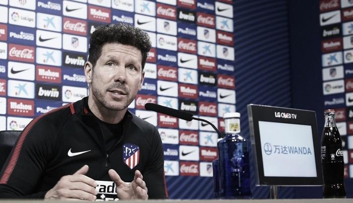 """Simeone: """"Será importante para los que no juegan"""""""