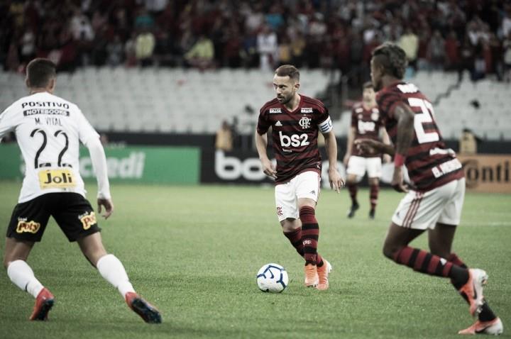 Flamengo encara Corinthians para tentar manter boa vantagem na liderança
