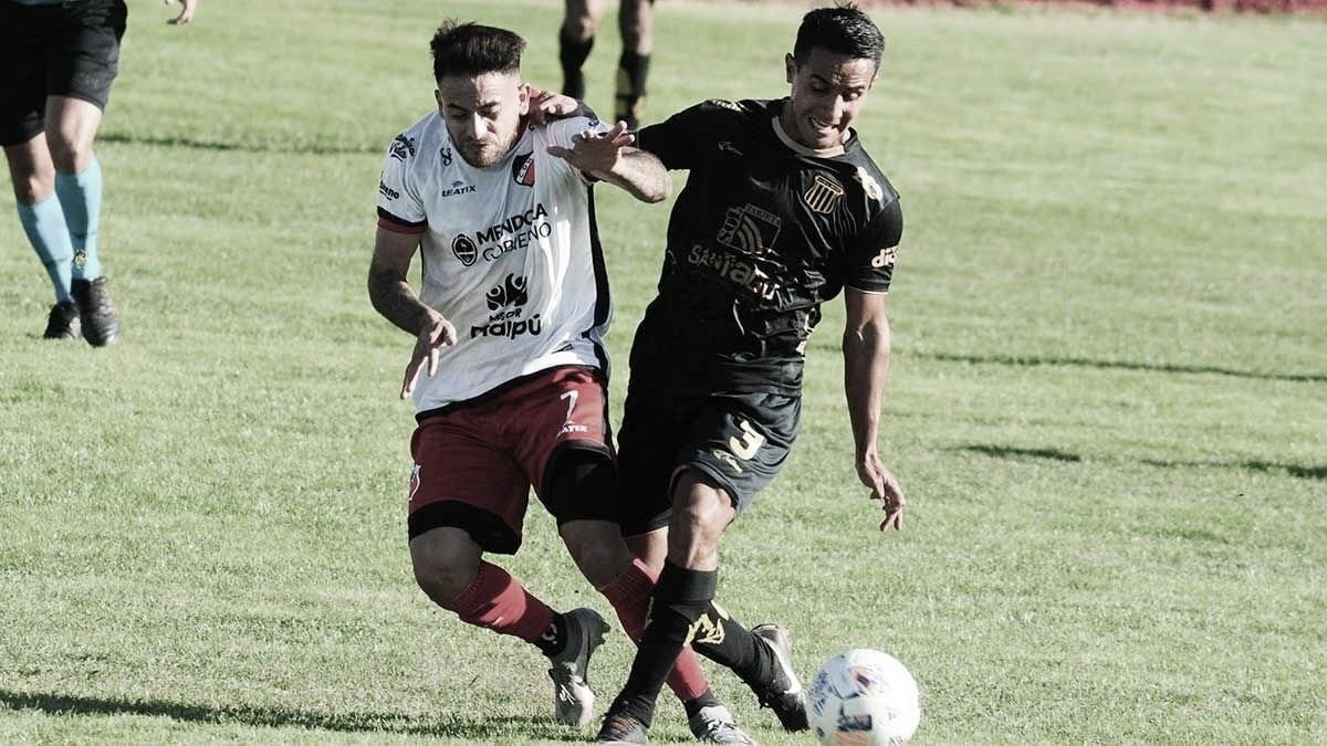Deportivo Maipú y Mitre (SE) empataron en Mendoza
