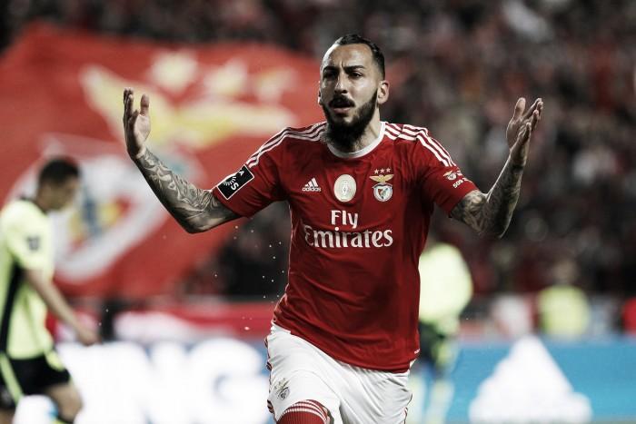 Benfica: Gaitán e Mitroglou estão OK para duelo frente ao Setúbal