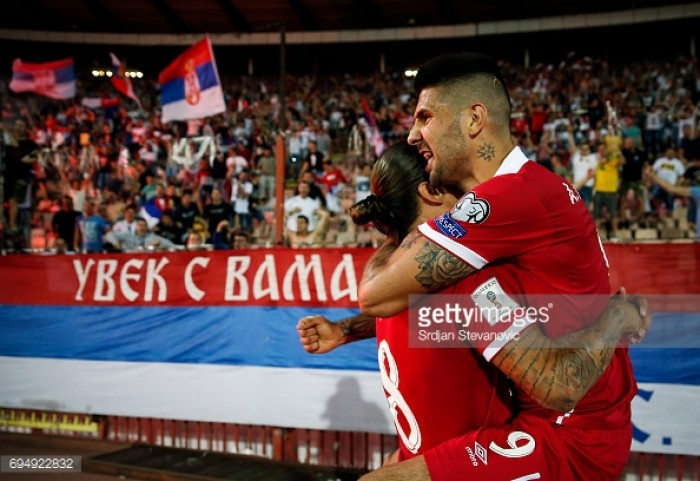 Serbia 1-1 Wales: Mitrovic leveller denies depleted Welsh three points