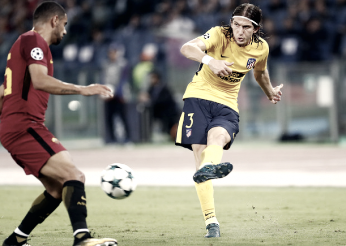 """Filipe Luis: """"Su portero tuvo la noche, hicimos lo suficiente para ganar"""""""