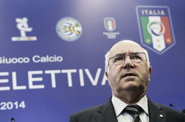 """Caso Lotito, parla Tavecchio:""""Da censurare toni e modalità telefonata"""""""