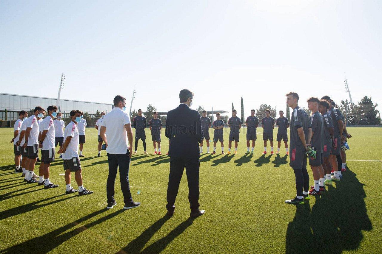 Presentación de la temporada 2020/21 para el Real Madrid Castilla y el Juvenil A | Fuente: www.realmadrid.com