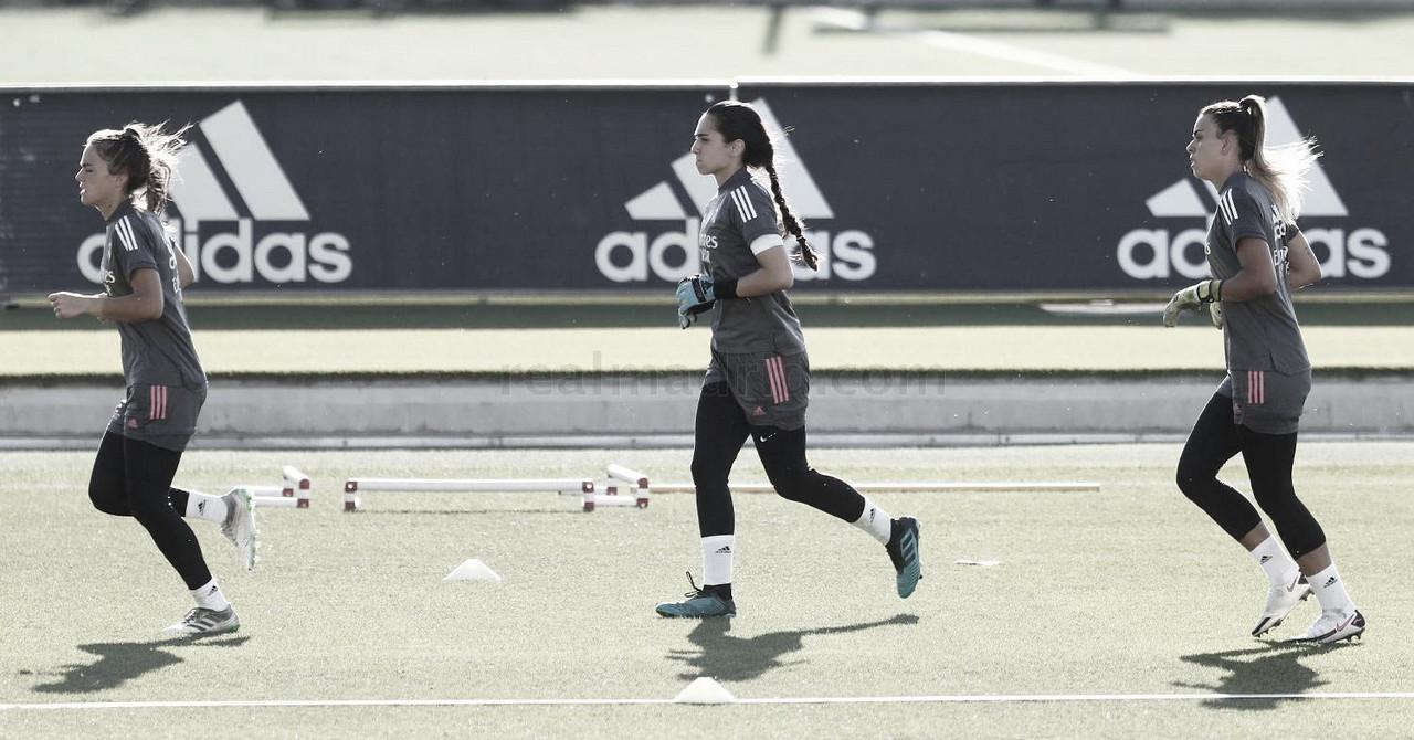 Continúa la preparación en la Ciudad Real Madrid