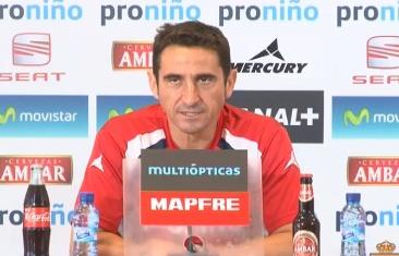 """Manolo Jiménez: """"Tenemos que maximizar nuestras virtudes y minimizar nuestros defectos"""""""