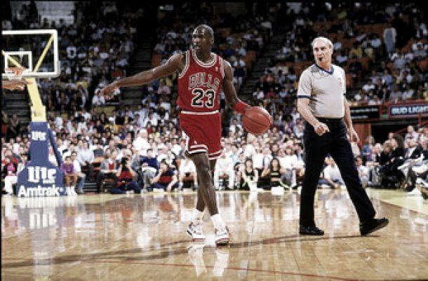 Los siete triples-dobles consecutivos de Michael Jordan