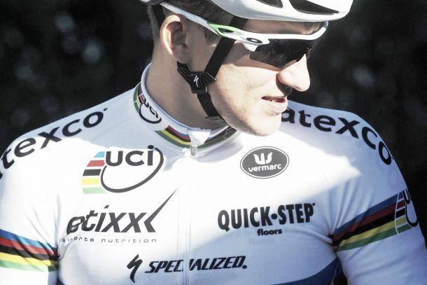 Il campione del mondo Michal Kwiatkowski vince l'Amstel Gold Race davanti a Valverde e Matthews